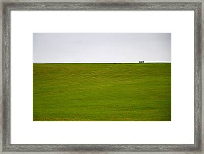 Solitude Framed Print by Corinne Rhode