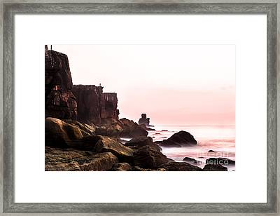 Framed Print featuring the photograph Solitude by Edgar Laureano