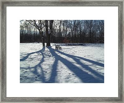 Framed Print featuring the photograph Solitude by Eric Switzer