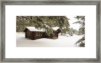 Solitude In The North Woods Framed Print by Tim Grams
