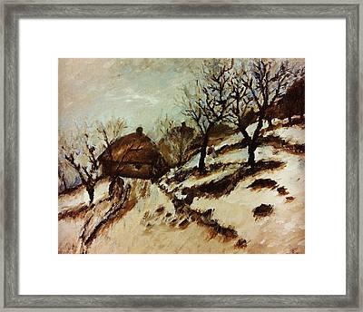 Solitude Framed Print by Jessica Sanders