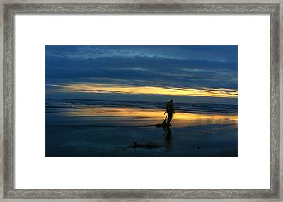 Solitude Framed Print by Karen Prado