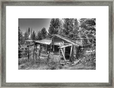 Framed Print featuring the photograph Solitude by Kevin Bone