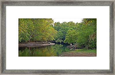 Framed Print featuring the photograph Solitude by Linda Brown