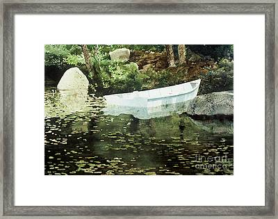 Solitude Framed Print by Monte Toon