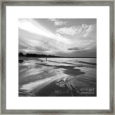Solitude Framed Print by Nicole Doyle