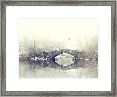 Solitude Of Winter Framed Print by Jessica Jenney