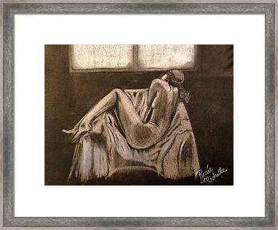 Solitude Framed Print by Renee Michelle Wenker