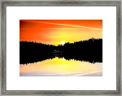 Solitude Framed Print by Robert Bales