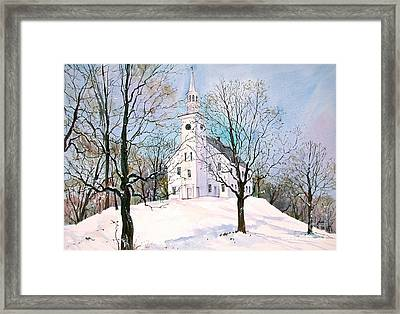 Solitude Framed Print by Sherri Crabtree