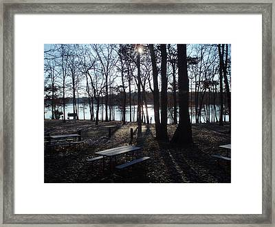 Framed Print featuring the photograph Solitude by Fortunate Findings Shirley Dickerson