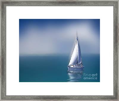 Solitude Framed Print by Shirley Mangini
