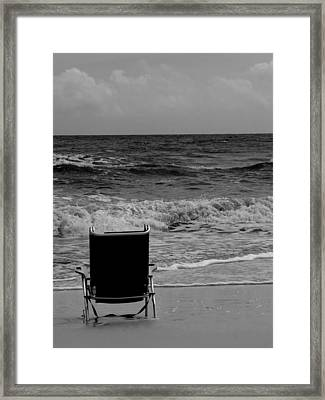 Framed Print featuring the photograph Solitude by Tom DiFrancesca