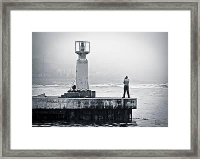 Solitude Framed Print by Tom Hudson