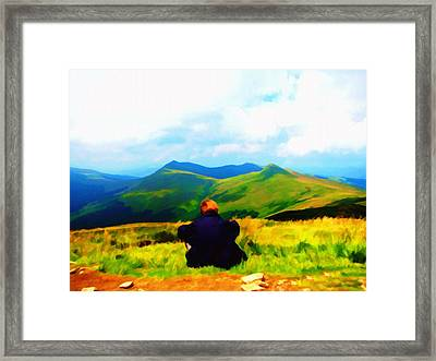 Solitude Framed Print by Tyler Robbins