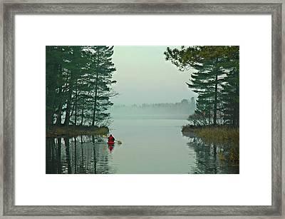 Solo Framed Print by RJ Martens