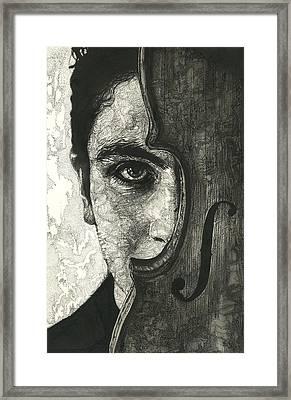 Solo Vox  Framed Print by Katie Gotch