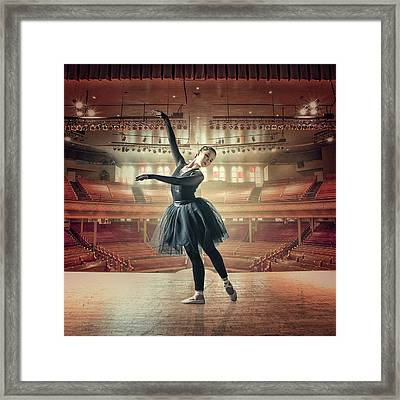 Solodance Framed Print