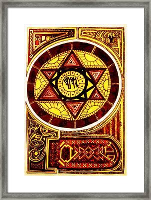 Solomon's Seal Framed Print