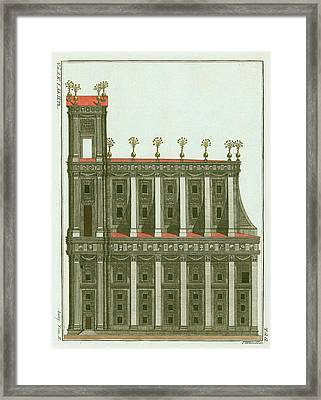 Solomon's Temple Framed Print by Mid-manhattan Picture Collection/new York Public Library