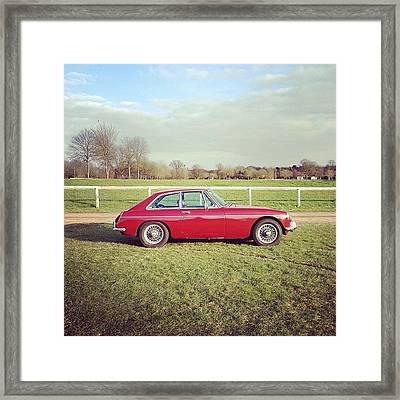 #soloparking #mgb #classiccar #car Framed Print