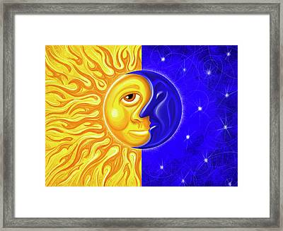 Solstice Greeting Framed Print