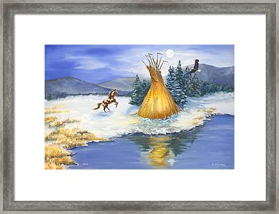 Solstice Framed Print by Jerry McElroy