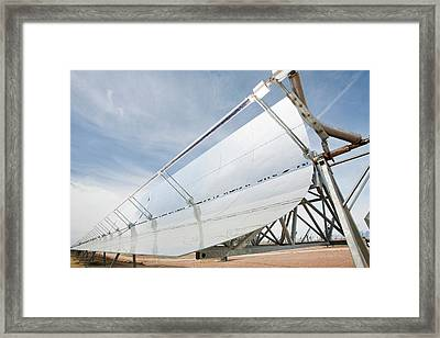 Solucar Solar Complex Framed Print by Ashley Cooper