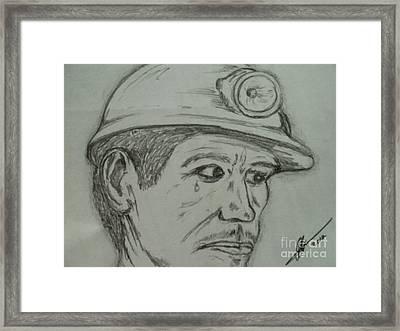 Soma Miner Framed Print