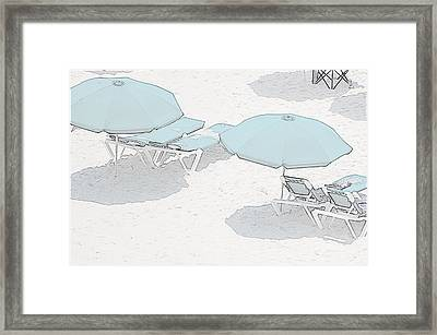 Framed Print featuring the photograph Some Beach        Somewhere by Susan  McMenamin