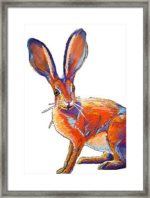 Some Bunnie Framed Print by Holly Wright