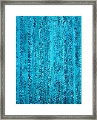 Some Call It Rain Original Painting Framed Print by Sol Luckman
