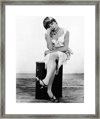 Some Came Running, Shirley Maclaine Framed Print by Everett