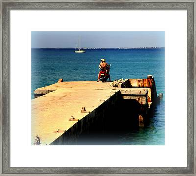 Some Day Soon Framed Print by Karen Wiles