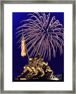 Some Gave All Framed Print