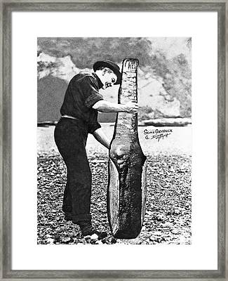 Some Geoduck Framed Print