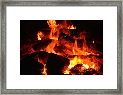 Framed Print featuring the photograph Some Like It Hot by Lisa Wooten