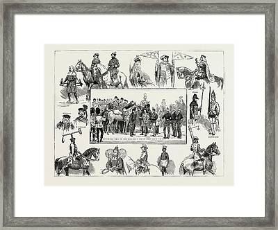 Some Of The Most Attractive Features Of The Lord Mayors Show Framed Print