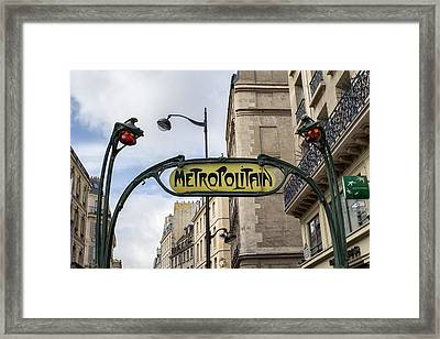 Some Things Don't Change - Paris Framed Print by Georgia Fowler