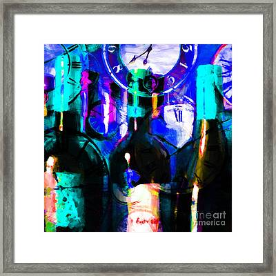 Some Things Get Better With Time - Square P180 Framed Print by Wingsdomain Art and Photography