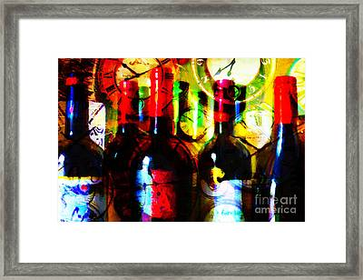 Some Things Get Better With Time Framed Print by Wingsdomain Art and Photography