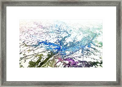 Some Where Over The Midwest Framed Print