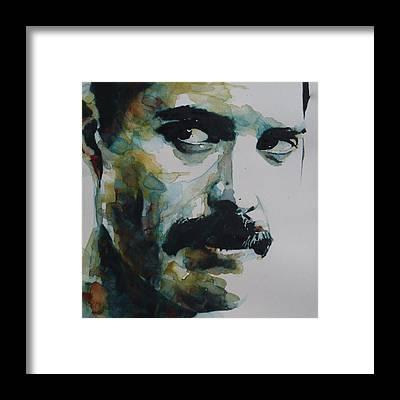 Freddie Mercury Framed Prints