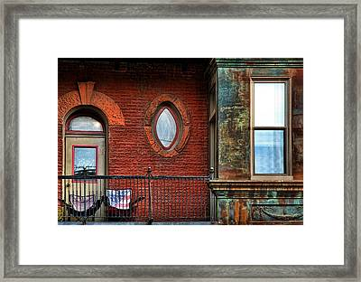 Somebody's Heaven  Framed Print by Joanna Madloch