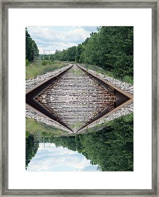 Somedays Its A Topsy Turvy Day Framed Print by Thomas Woolworth