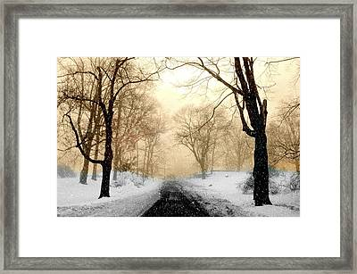 Somehow Framed Print by Diana Angstadt