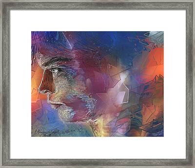 Someone Framed Print by Francoise Dugourd-Caput
