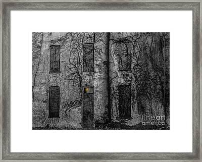Someone's Home Framed Print