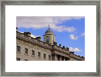 Somerset House Framed Print by Nicky Jameson
