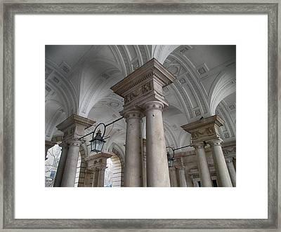 Somerset House Framed Print